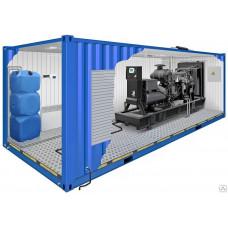 Блок-контейнер утепленный для дизельного генератора TBd 220TS