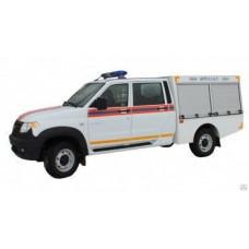 Автомобиль первой помощи АПП 0,3-0,5 УАЗ-236324Профи