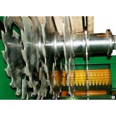 Многопильный станок дисковый для распила лафета СМРД -2