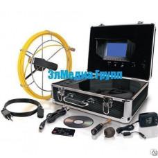 Видеодиагностика трубопроводов BESTCAM 3188D. 20-40 метров до 120мм.