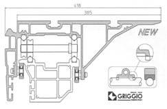 Форматно–раскроечный станок GRIGGIO UNICA 350 3